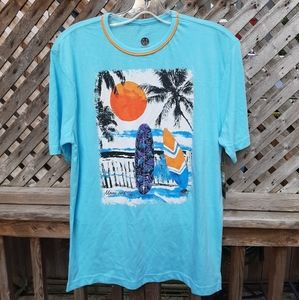 Maui and Sons blue tshirt new with tags